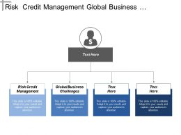 Risk Credit Management Global Business Challenges Marketing Growth Cpb
