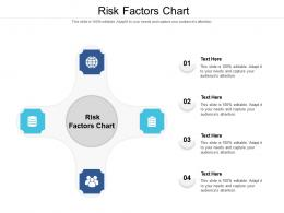 Risk Factors Chart Ppt Powerpoint Presentation Gallery Slides Cpb