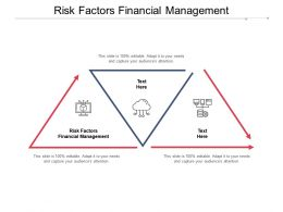 Risk Factors Financial Management Ppt Powerpoint Presentation Professional Gallery Cpb