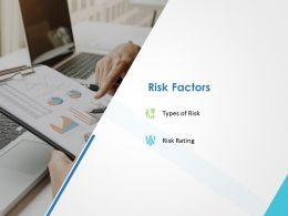 Risk Factors Ppt Powerpoint Presentation Summary Graphics Example
