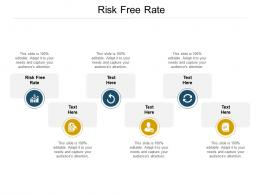 Risk Free Rate Ppt Powerpoint Presentation Slides Templates Cpb