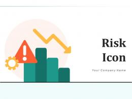 Risk Icon Management Financial Arrows Exclamation Assessment Indicator
