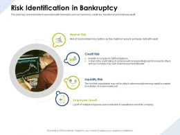 Risk Identification In Bankruptcy Reasonable Cost Ppt Powerpoint Presentation Show
