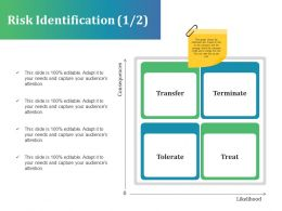 Risk Identification Presentation Powerpoint