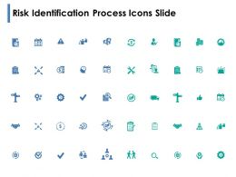 Risk Identification Process Icons Slide Direction Powerpoint Presentation Show