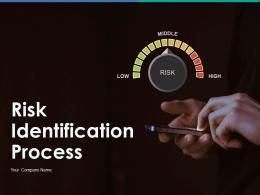 Risk Identification Process Powerpoint Presentation Slides