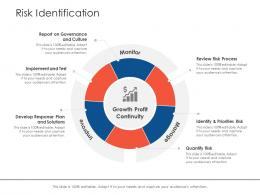 Risk Identification Profit Project Strategy Process Scope And Schedule Ppt Grid