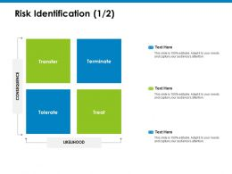 Risk Identification Transfer Ppt Powerpoint Presentation Icon Slide