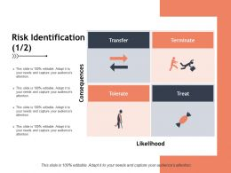 Risk Identification Treat Management Ppt Powerpoint Presentation Pictures Example File