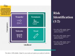 Risk Identification Treat Ppt Powerpoint Presentation File Samples