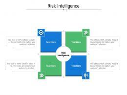 Risk Intelligence Ppt Powerpoint Presentation Outline Design Ideas Cpb