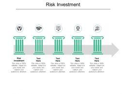 Risk Investment Ppt Powerpoint Presentation Portfolio Show Cpb