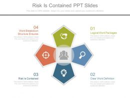 Risk Is Contained Ppt Slides