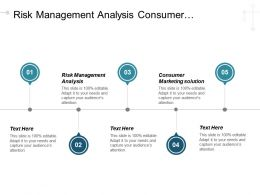 Risk Management Analysis Consumer Marketing Solutions Mckinsey Business Technology Cpb