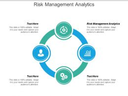 Risk Management Analytics Ppt Powerpoint Presentation File Brochure Cpb
