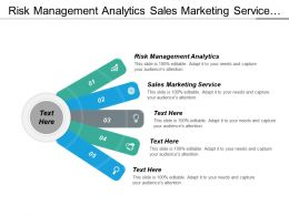 Risk Management Analytics Sales Marketing Service Companies Services Cpb