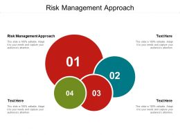Risk Management Approach Ppt Powerpoint Presentation Styles Ideas Cpb