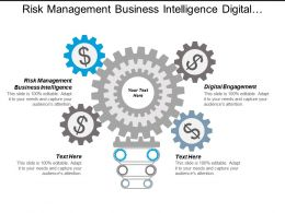 Risk Management Business Intelligence Digital Engagement Strategic Implementation Cpb