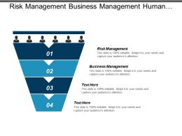 Risk Management Business Management Human Resources Business Plan Cpb