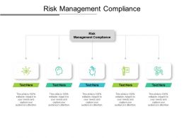 Risk Management Compliance Ppt Powerpoint Presentation Summary Themes Cpb