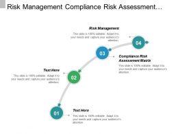 Risk Management Compliance Risk Assessment Matrix Marketing Analytics Cpb