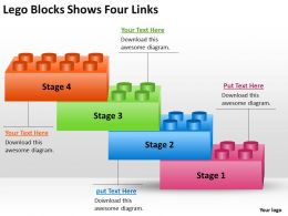 risk_management_consulting_lego_blocks_shows_four_links_powerpoint_templates_ppt_backgrounds_for_slides_Slide01