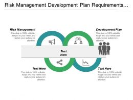 Risk Management Development Plan Requirements Analysis Communication Plan Cpb