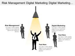 Risk Management Digital Marketing Digital Marketing Training Executives Cpb