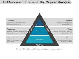 Risk Management Framework Risk Mitigation Strategies Ppt Summary