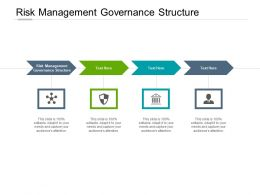 Risk Management Governance Structure Ppt Powerpoint Presentation Slides Cpb
