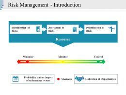 Risk Management Introduction Powerpoint Templates Download