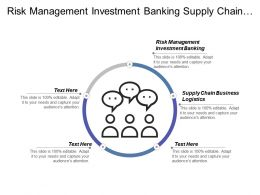 Risk Management Investment Banking Supply Chain Business Logistics Cpb