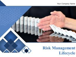 Risk Management Lifecycle Powerpoint Presentation Slides