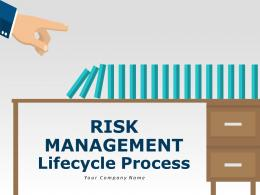 Risk Management Lifecycle Process Powerpoint Presentation Slides