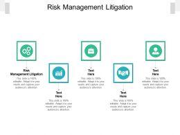 Risk Management Litigation Ppt Powerpoint Presentation Ideas Graphics Design Cpb