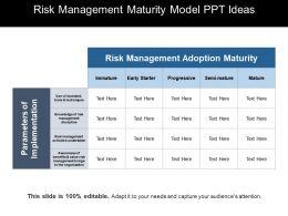 risk_management_maturity_model_ppt_ideas_Slide01