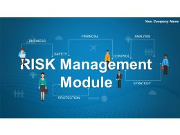 Risk Management Module Powerpoint Presentation Slides