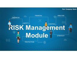 Risk Management Module Powerpoint Presentation Slides