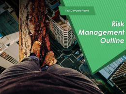 Risk Management Outline Powerpoint Presentation Slides