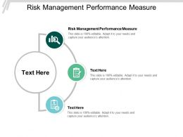 Risk Management Performance Measure Ppt Powerpoint Presentation Styles Clipart Cpb