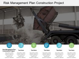 Risk Management Plan Construction Project Ppt Powerpoint Presentation Slides Cpb