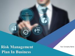 Risk Management Plan In Business Powerpoint Presentation Slides