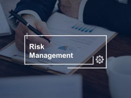 Risk Management Plan Management C296 Ppt Powerpoint Presentation File Inspiration