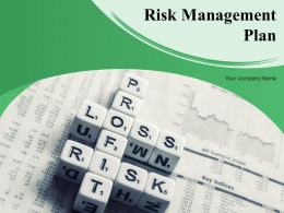 Risk Management Plan Powerpoint Presentation Slides