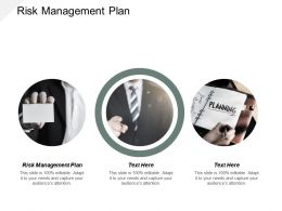 Risk Management Plan Ppt Powerpoint Presentation Slides Graphic Images Cpb