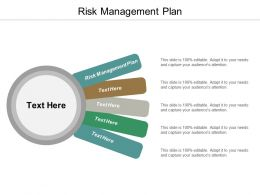 Risk Management Plan Ppt Powerpoint Presentation Slides Guidelines Cpb