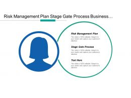 Risk Management Plan Stage Gate Process Business Strategic Plan Cpb