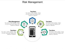 Risk Management Ppt Powerpoint Presentation Infographics Design Ideas Cpb