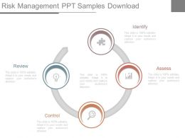 Risk Management Ppt Samples Download