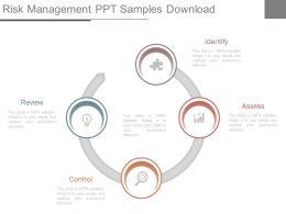 Risk Management Ppt Samples Download